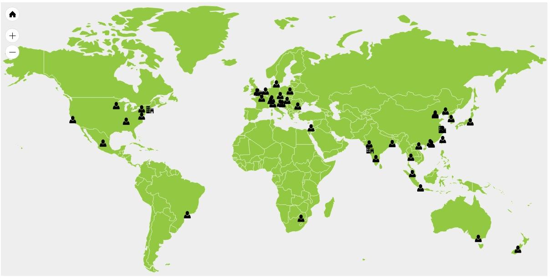Worldwide Map
