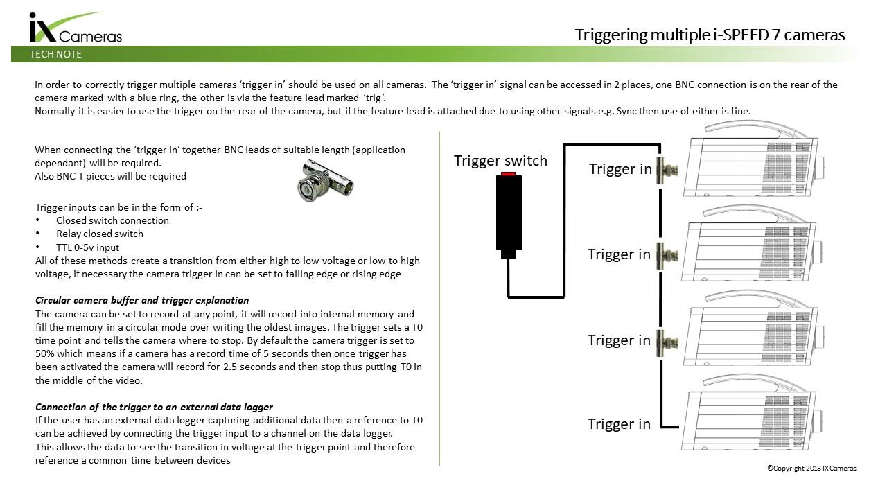 Ultra Slow Motion High Speed Cameras Video Tutorial Gallery Cameraflasheffectpagecircuitdiagram Triggering Multiple I 7 Series Camera