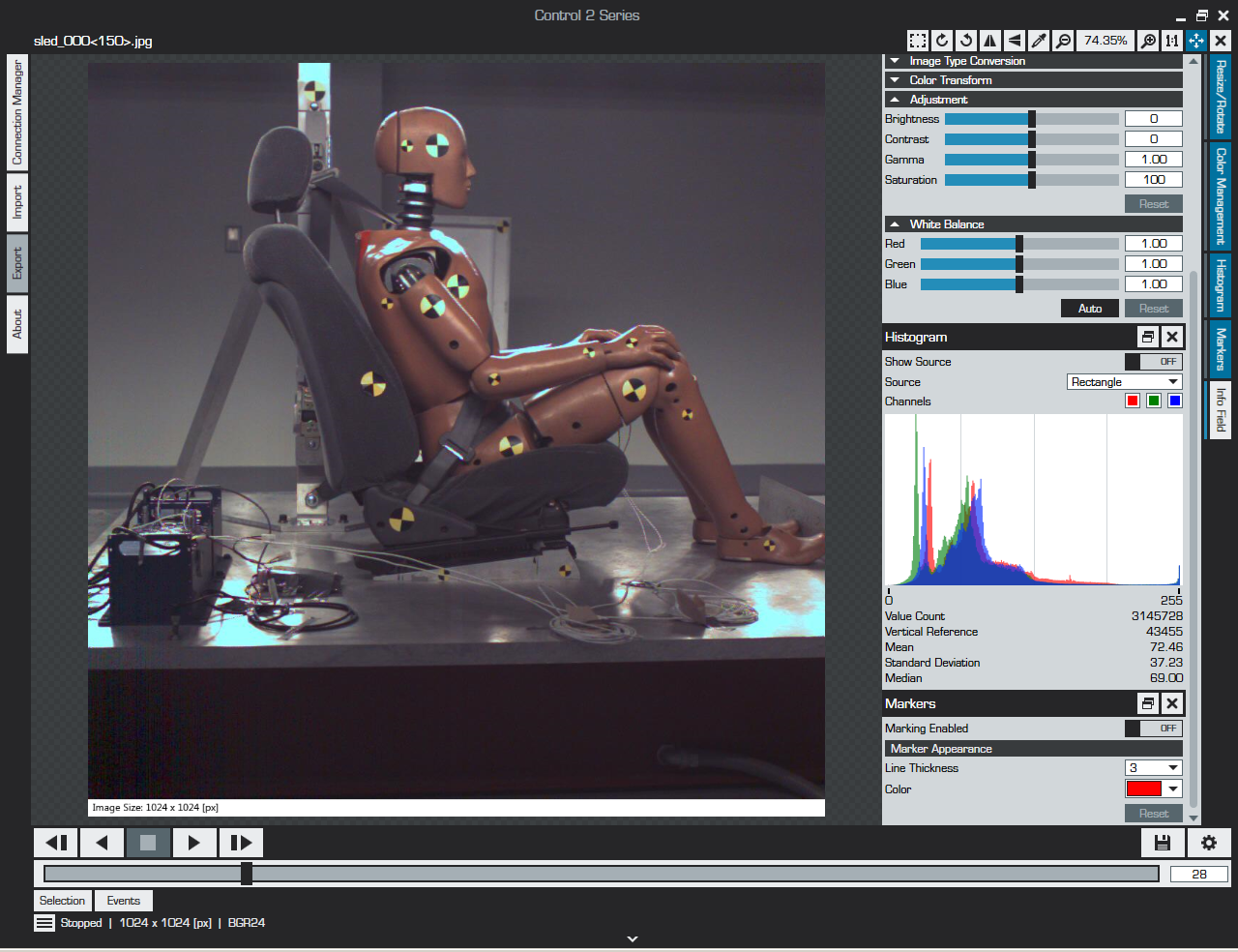 Slow Motion Analysis Software