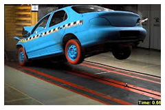 Automotive Testing - Sled impact